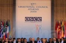 Khai mạc hội nghị ngoại trưởng OSCE tại Hy Lạp
