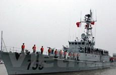 Hai tàu hải quân Trung Quốc cập cảng Hải Phòng