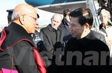 Chủ tịch nước bắt đầu chuyến thăm cộng hòa Italy