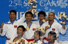 Karatedo Việt Nam nhất toàn đoàn tại SEA Games