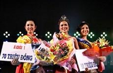 Diễm Hương đăng quang Hoa khôi trang sức 2009