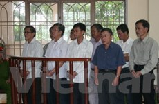 Kết thúc phiên tòa xử vụ khai thác rừng Khe Diên