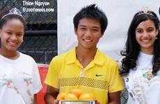Tay vợt Hoàng Thiên vô địch giải Orange Bowl