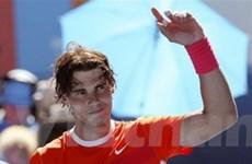 Nadal thẳng tiến trên con đường bảo vệ ngôi vương