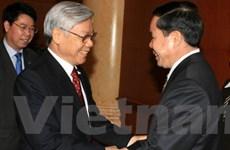 Công an Việt Nam-Lào tăng cường quan hệ hợp tác