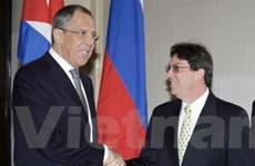 Nga-Cuba tăng cường quan hệ đối tác chiến lược