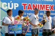 Lào đăng cai giải thi đấu quần vợt quốc tế ITF
