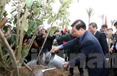Chủ tịch nước phát động Tết trồng cây thứ 50