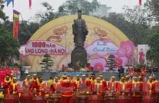 Khai mạc hội Xuân Thăng Long-Hà Nội ngàn năm