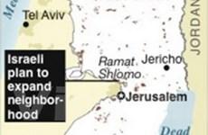 Israel: Bất đồng về quyết định xây khu định cư mới
