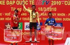 Lê Văn Duẩn đoạt áo vàng chung cuộc tại giải BTV