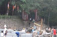 Khẩn trương hoàn tất tiến độ cho Lễ hội Đền Hùng