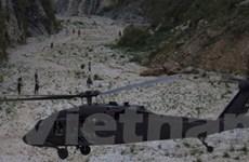 Rơi máy bay lên thẳng, bốn binh sĩ thiệt mạng