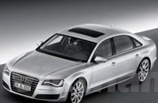 """Audi """"vén màn"""" mẫu A8L ở triển lãm ôtô Bắc Kinh"""