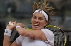 Kuznetsova gây bất ngờ đầu tiên tại Madrid Open