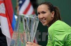 Venus và Jankovic thăng tiến trên bảng xếp hạng
