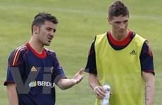 """Barcelona """"mơ"""" tái hợp cặp song sát Torres-Villa"""