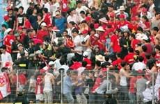 Phạt tù 8 cổ động viên của đội Ximăng Hải Phòng