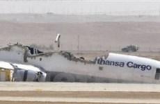 Máy bay chở hàng của Đức bốc cháy tại Arập Xêút