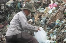 Hải Phòng: Mưa khiến bãi rác Đình Vũ gây ô nhiễm