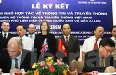 Việt Nam-Anh tăng hợp tác thông tin-truyền thông