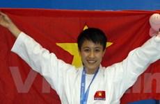 Tiếc nuối vì võ sĩ karate Nguyệt Ánh chỉ đoạt bạc