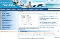 Khai trương cổng thương mại điện tử Quảng Ngãi