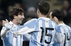 Anh, Pháp và Argentina chung niềm vui chiến thắng