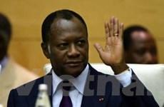 AU quyết định dỡ lệnh trừng phạt Cote d'Ivoire