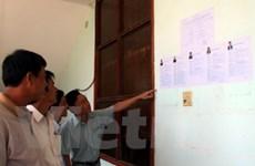 Những ngư dân đầu tiên bỏ phiếu bầu đại biểu QH