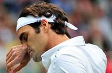 Tsonga lật đổ Federer