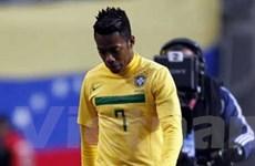 Robinho chưa chắc đá chính ở trận gặp Paraguay