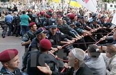Tòa án tại Kiev ra lệnh cấm phe đối lập biểu tình