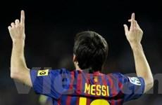 Messi tiến sát kỷ lục ghi bàn mới cho Barcelona