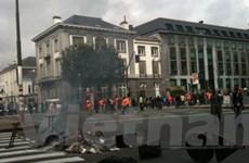 Công nhân Bỉ phản đối việc chuyển dịch vụ thu rác