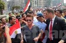 Biểu tình phản đối quy định bầu cử mới ở Ai Cập