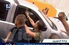"""Mỹ triệu đại sứ Syria đến để nghe """"luật bạo động"""""""