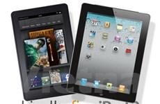 """iPad sẽ phải chia sẻ """"ngôi vương"""" cho Kindle Fire?"""