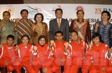 Indonesia đề ra mục tiêu giành 155 HCV SEA Games