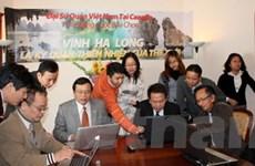 Người Việt tại Canada quảng bá cho Vịnh Hạ Long
