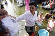Ở nhà chống lũ lụt