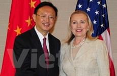 Trung-Mỹ cam kết thúc đẩy quan hệ đối tác hợp tác