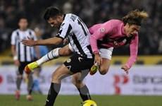 Juventus và Udinese bất phân, Inter thắng đậm