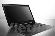 Acer ra mắt máy tính xách tay mỏng nhất thế giới