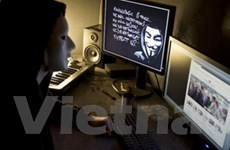 Anonymous lại đánh các website của chính phủ Mỹ
