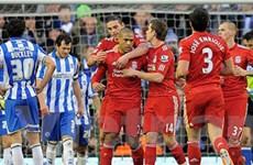 Liverpool trút cơn mưa bàn thắng vào lưới Brighton