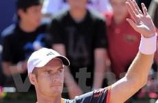 Murray sớm phải chia tay giấc mơ Madrid Masters