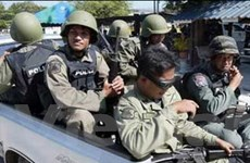 Thái Lan và Malaysia tiến hành tuần tra biên giới