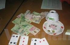 Phá đường dây đánh bạc, thu giữ hơn 80 triệu đồng