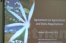 Những ưu tư của VN trong tiến trình đàm phán Doha